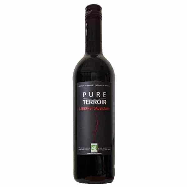 Pure Terroir, Cabernet-Sauvignon IGP, BIO, 75cl, Frankreich.