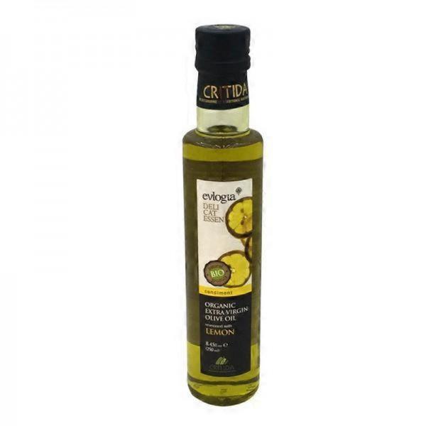 BIO Olivenöl mit Zitrone, 250 ml