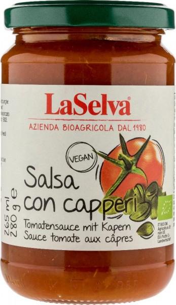 Salsa con capperi Tomatensauce mit Kapern, 280g