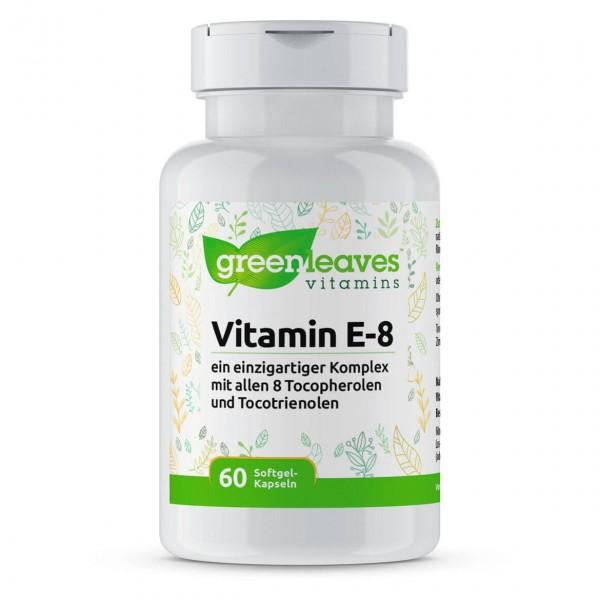 Vitamin E-8 (mit 8 Formen Vitamin E)