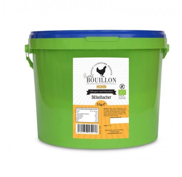 BIO-Hühnersuppe/Brühe *gekörnt*, 5kg, klar