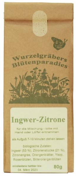 BioKräuter-Tee INGWER-ZITRONE, 80g