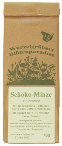 Kräuter-Tee SCHOKO-MINZE, BIO, 70g
