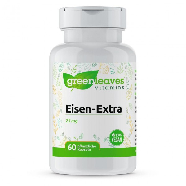 Eisen-Extra, 25mg, 60 Kapseln