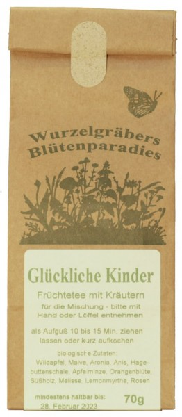 BioKräuter-Tee GLÜCKLICHE KINDER, 70g