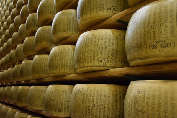 Parmesan, BIO, ca. 300g, Parmigiano Reggiano, 30 Monate, Italien