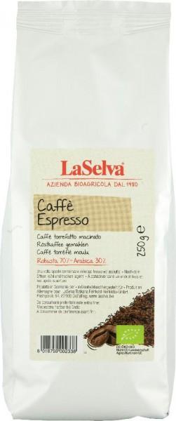 Cafè Espresso, Röstkaffee gemahlen, BIO, 250 g