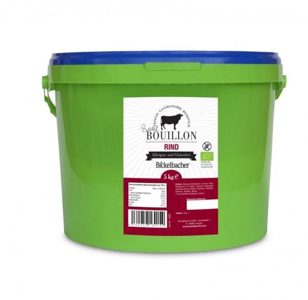 BIO-Rinderbouillon/Brühe/Suppe *gekörnt*, 5kg, klar