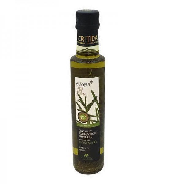 BIO Olivenöl mit Rosmarin, 250 ml
