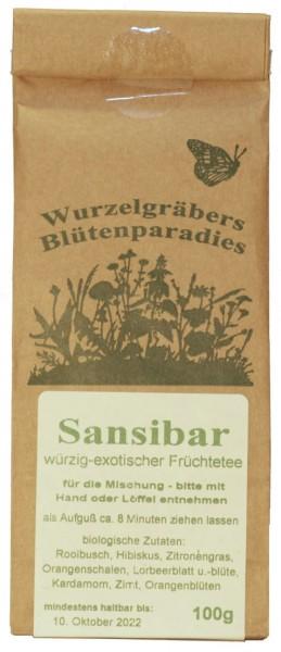 Bio Kräutertee SANSIBAR, 100g