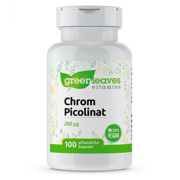 Chrompicolinat 200 µg, 100 Kapseln
