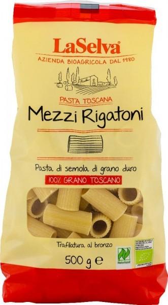 Mezzi rigatoni - Nudeln aus Hartweizengrieß, 500g, BIO