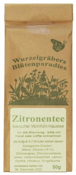 Kräuter-Tee ZITRONENTEE, BIO, 50g