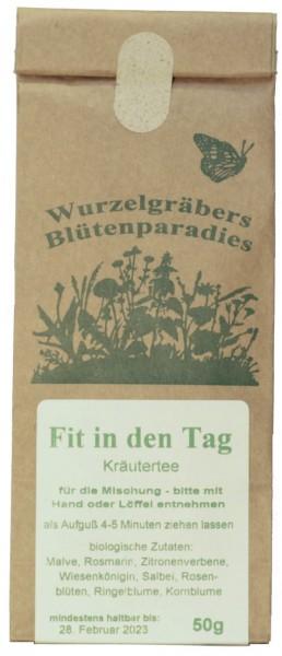 Kräuter-Tee FIT IN DEN TAG, BIO, 50g