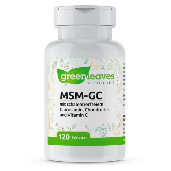 MSM-GC 3 in 1, 120 Tabletten